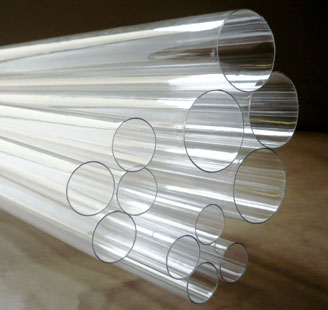 CLEAR PLASTIC TUBES